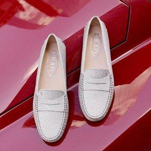 变相6.4折 入江疏影同款双T美鞋Tods 经典舒适豆豆鞋、休闲Sneaker专场