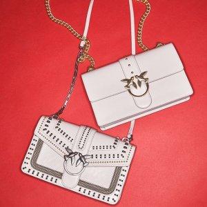 无门槛7折限今天:Pinko 新款美包热卖 经典燕子包低至$263