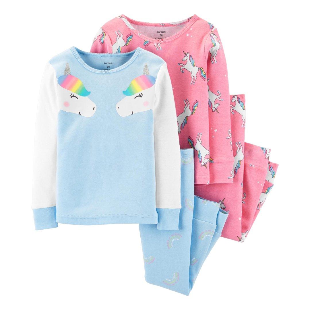 女小童睡衣4件套