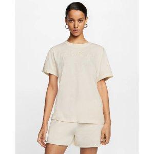 Nike奶油色短袖