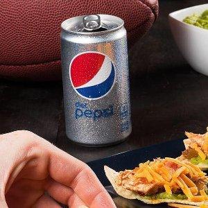 $3.78 一罐$0.37补货:Diet Pepsi Soda 健怡百事可乐迷你装 7.5oz 10罐