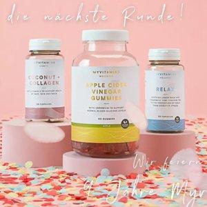 限时4.5折 €4收复合维生素软糖My Vitamins 春季大促!收维生素软糖、胶原蛋白饮、能量球