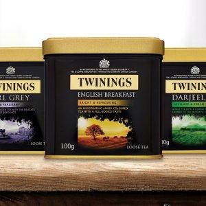 买3免1 变相67折 超多口味可选Twinings 罐装茶系列折扣热卖 还有去火洋甘菊