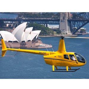 $379(原价$850)Bankstown Helicopters 悉尼海港直升机半小时观览