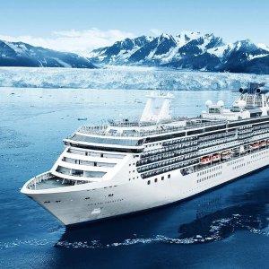 Princess Cruises阿拉斯加内航路 含冰川湾 西雅图出发
