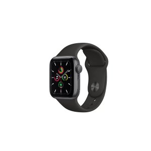 AppleWatch SE (Space Grey Aluminium, 40mm, Black Sport Band, GPS Only) | Smart Watches |