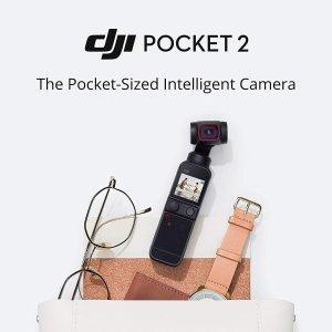 6折起DJI 无人机、运动相机专场 Pocket 灵眸相机$363