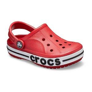 $11.99起即将截止:Crocs官网 儿童鞋额外6折两日热卖