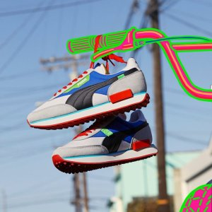 4.2折起+满额减$20 $42收李现同款PUMA RIDER系列撞色休闲鞋 未来感配色 彰显街头属性