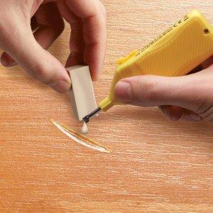 3色套装€6.49 可调色使用Edding 木地板补丁 蜡质修补 划痕、不平整即可抚平 租房必备