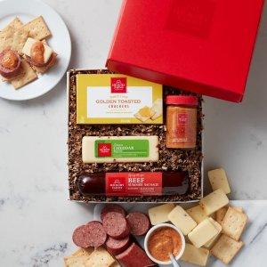 Hickory Farms香肠+芝士礼盒