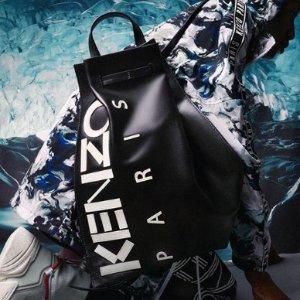 低至5折 潮男型女必备Kenzo官网 鞋子、服饰、包包折扣区热卖 收Logo短袖