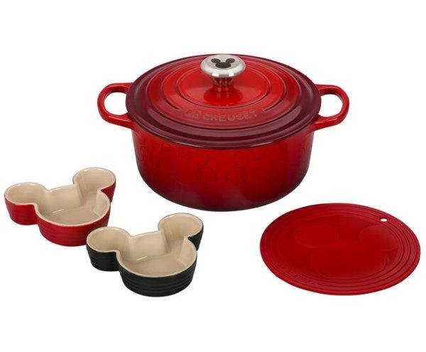 米奇锅具餐具5件套