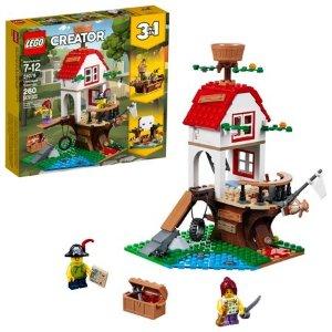 Lego史低价Creator系列 树屋宝藏 31078