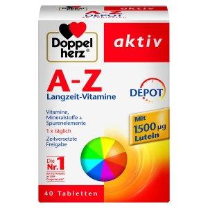 仅售€3.95Doppelherz 双心 A-Z维他命补剂 40片盒装