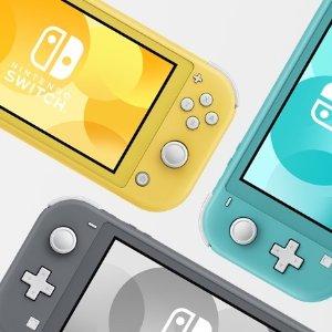 今天发售 $259.96 + 包邮Nintendo Switch Lite 掌上游戏机 3色可选