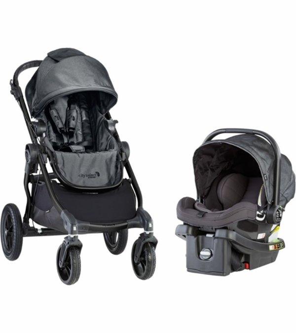 City Select 童车 + City GO 婴儿安全座椅旅行套装