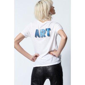 Zadig & Voltaire3D字母T恤