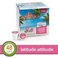 Margaritaville K-Cup胶囊咖啡 48颗 Latitude Attitude