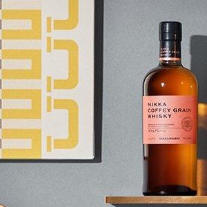 折后€45.51 超火的日本威士忌一甲 Nikka Coffey Grain 威士忌热促 能讨女孩欢心的威士忌