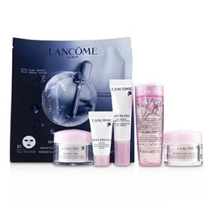 Lancome- Hydra Zen Travel Set: Beauty Essence 50ml + Gel-Essence 10ml + Moisturising Cream 15ml + Eye Cream 5ml + Masque 15ml + Genifque Mask 1sheet 6pcs - Travel Sets | Free Worldwide Shipping | Strawberrynet USA
