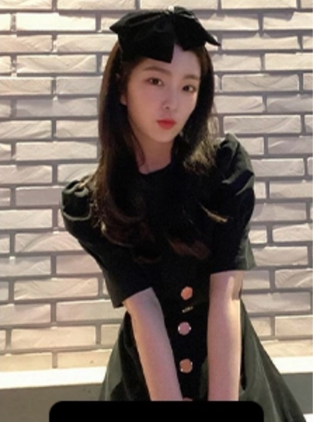 Irene同款蝴蝶夹发夹