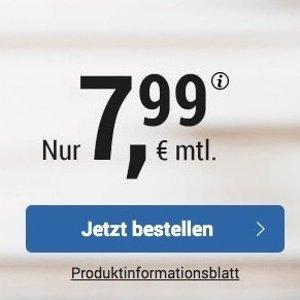 代号入网就送10欧免接通费 包月所有网络电话/短信+4GB上网+欧盟漫游 月租€7.99