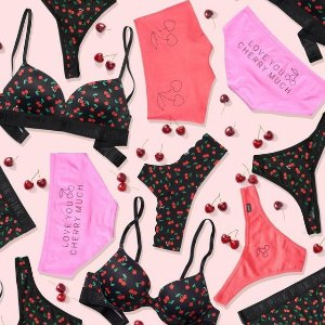 Free $200 Reward Card with $20 Purchase + 5 For $30PINK Panty Party Panty on Sale