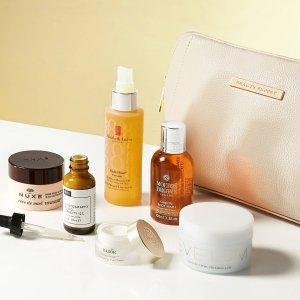 无门槛8折 £63收 含正装Evelom卸妆Beauty Expert 超值套装热促 正装美妆礼包 价值£170+