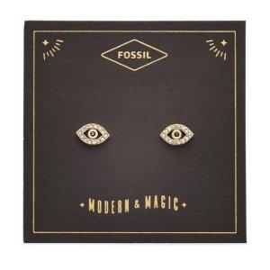 Fossil买2件享8折,买3件享7折恶魔之眼耳钉