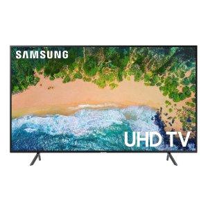 $797.99 送$250礼卡Samsung 65吋 4K UHD 超高清智能电视 UN65NU7100