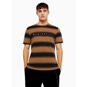 Topman条纹T恤