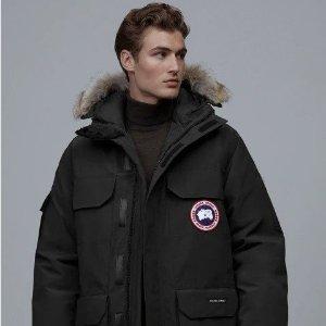 Canada Goose防寒-30°C及以下黑色远征款