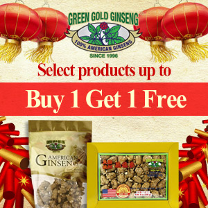 $0 Ginseng fibers for all orders$100+But 1 Get 1 FREE, Thank you for your support over the past 22 years