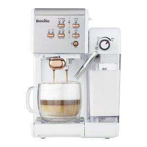Breville 一键式VCF107咖啡机-白色