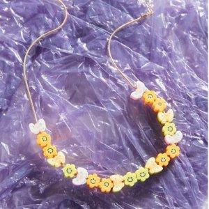 泫雅风彩珠项链