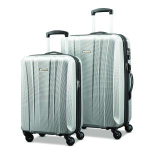 美国直邮¥1277Samsonite PULSE DLX 轻质行李箱2件套 20寸+28寸