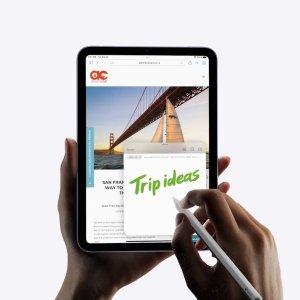 """$649起 无敌小钢炮新品上市:Apple iPad mini 6 发布, 8.3"""" 全面屏, 人物居中, A15 芯片"""