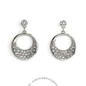 SwarovskiRagtime Silver One Size Earrings