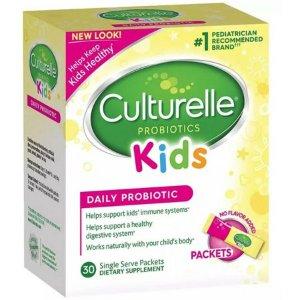Culturelle Kids Packets Daily Probiotic Supplement 30 ea - Walmart.com