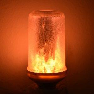 5.8折仅€10.99 摇曳的火光闪购:Lumiereholic LED 火焰灯泡热促 营造浪漫氛围