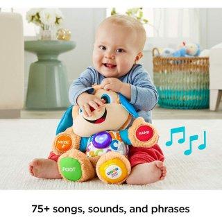 $14.87 (原价$24.88)史低价:Fisher-Price 费雪 Laugh & Learn益智学习毛绒玩具