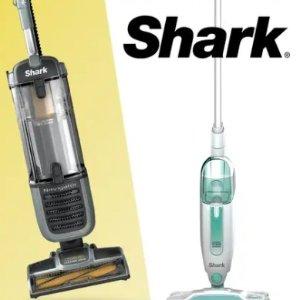 5折起Shark 智能清洁工具专场 蒸汽拖把$89