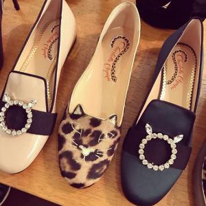 无门槛8.5折 激萌猫咪鞋£165收即将截止:Charlotte Olympia 美鞋美包闪促开始 超萌猫咪鞋收起来