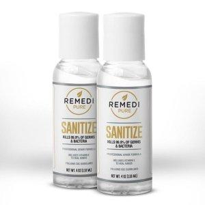 $7.98(原价$17.98)Remedi Pure 免洗洗手液 70%酒精含量 2瓶装