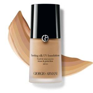 GIORGIO ARMANI beauty柔亮自然粉底液 SPF 20 | Armani Beauty UK