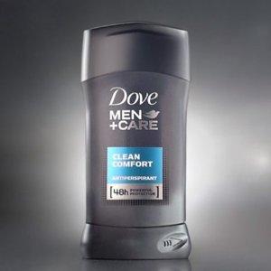 $9.09Dove Men+Care Antiperspirant Clean Comfort 2.7 oz, Pack of 6