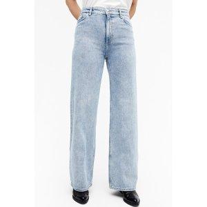 MonkiYoko高腰牛仔裤