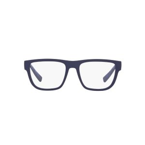 Armani Exchange蓝色框架眼镜