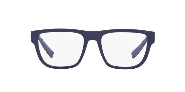 蓝色框架眼镜